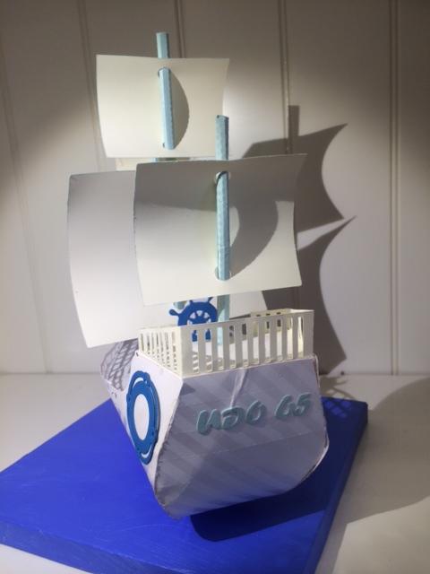 Segelschiff_Geldverpackung 2 Cameo