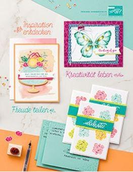 Frühjahr Sommer Katalog Stampin Up 2018 Cover